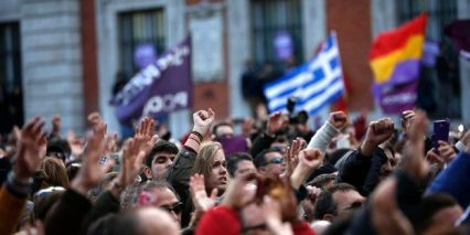 Podemos Demo Madrid