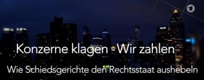 ARD, Konzerne klagen - wir zahlen