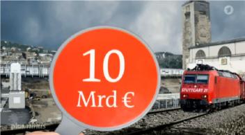 S 21 10 Mrd. Kosten, plus minus 21.7.16