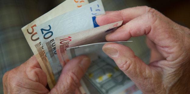 Grundsicherung für Rentner und Grundrente